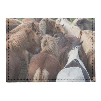 Herd of Icelandic horse Tyvek® Card Wallet