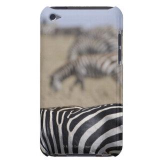 Herd of Zebras grazing, Masai Mara Game Reserve, iPod Case-Mate Cases