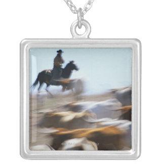 Herding Cattle Pendant