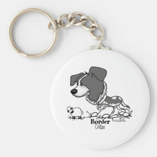 Herding Dog - Border Collie Key Ring