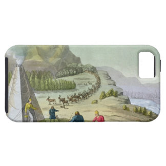 Herding Reindeer, Lapland, plate 47 from 'Le Costu Tough iPhone 5 Case