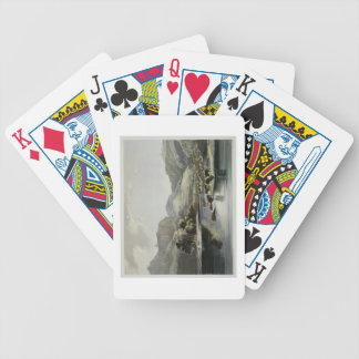 Herds of Bison and Elk on the Upper Missouri, plat Bicycle Playing Cards