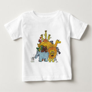 Here a group of animal some big and some tall baby T-Shirt