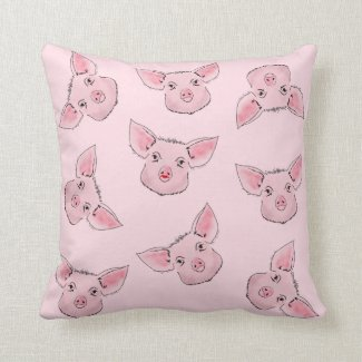 Here a piggy, there a piggy, everywhere a piggy cushion