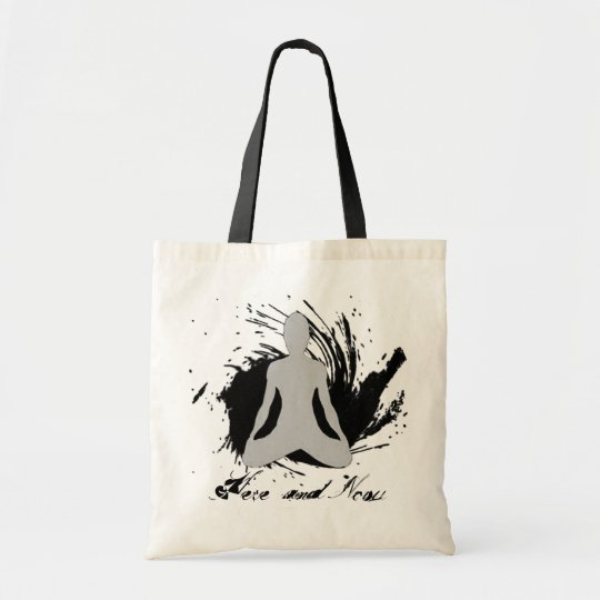 Here and Now - Yoga Tote Bag