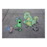 Here Be Dragons Print