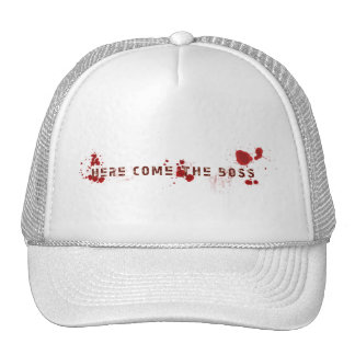 here come the hoss rap hat