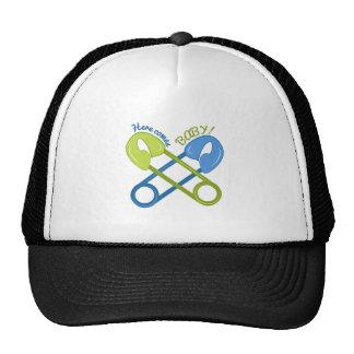 Here Comes Baby! Trucker Hats