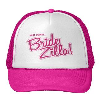 Here Comes BRIDEZILLA! - hat