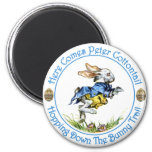 Here Comes Peter Cottontail 6 Cm Round Magnet