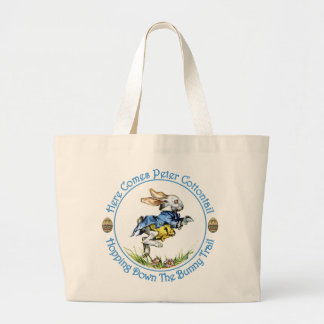 Here Comes Peter Cottontail Tote Bag