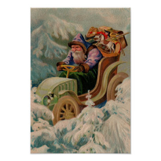 Here Comes Santa Claus! Poster