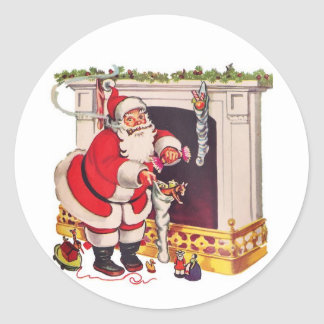 Here Comes Santa Clause / Stickers