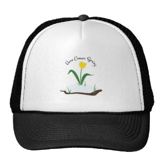 Here Comes Spring Trucker Hat