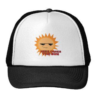 Here Comes Sun Cap