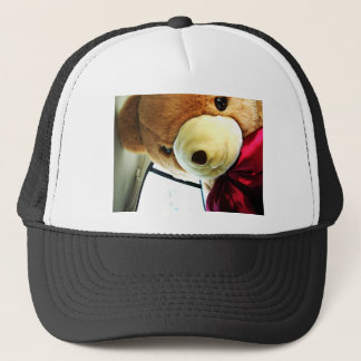 Here Comes Teddy Trucker Hat
