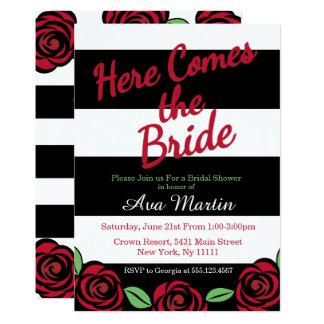 Here Comes the Bride, Bridal Shower Invitations