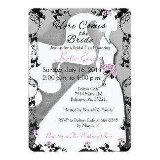 Here comes the Bride Invitation