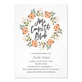 Here Comes The Bride | Save The Date Announcement