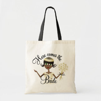 Here Comes The Bride Tote Bag