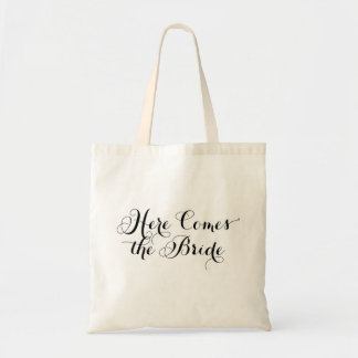 Here Comes the Bride Tote Budget Tote Bag