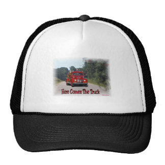 Here Comes The Fire Truck Mesh Hats
