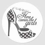 Here Comes the girls_SHOE.ai Stickers