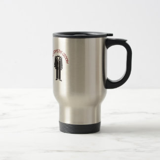HERE COMES THE GROOM STAINLESS STEEL TRAVEL MUG