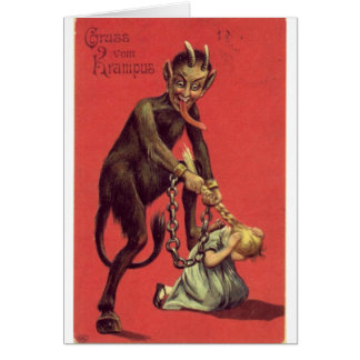 Here Comes The Krampus! 2 Card