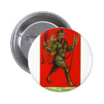 Here comes the Krampus! Buttons