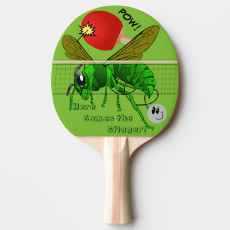 Here Comes the Stinger Funny Table Tennis Paddle
