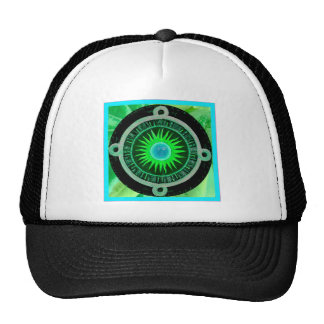 Here comes the sun trucker hat