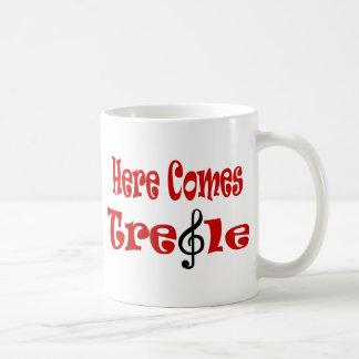 Here Comes Treble Coffee Mug