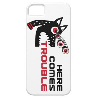 Here Comes Trouble 5 iPhone 5 iPhone 5 Cases