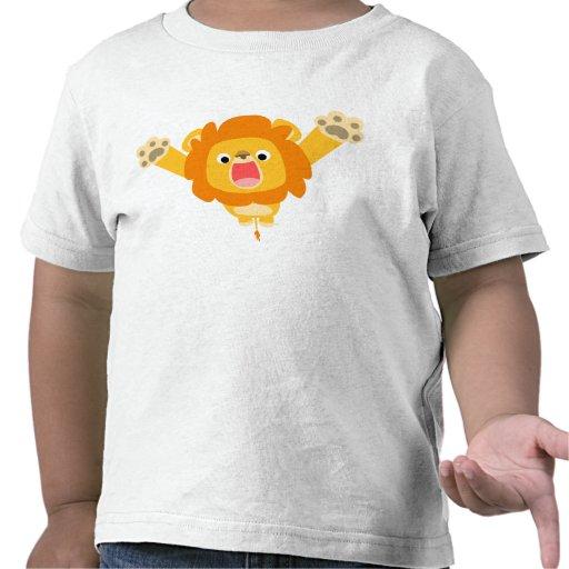 Here comes Trouble (cartoon Lion) children T-shirt