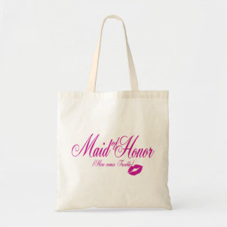 Here Comes Trouble/ Maid of Honor Budget Tote Bag