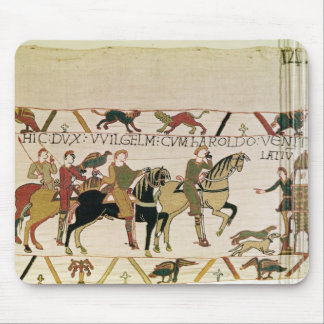 Here Duke William goes with Harold to his Mouse Mat