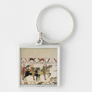 Here Duke William goes with Harold to his Silver-Colored Square Key Ring
