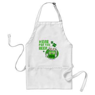 Here for the Beer Standard Apron
