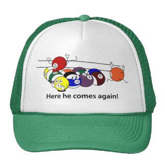 Here He Comes caps Trucker Hat