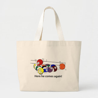 Here He Comes tote Canvas Bags