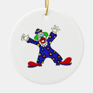 Here I Am Clown Christmas Ornament