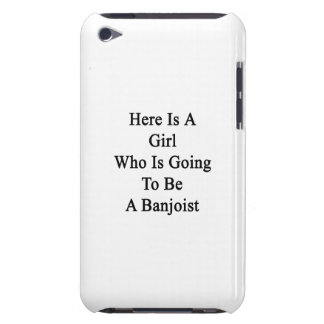 Here Is A Girl Who Is Going To Be A Banjoist Barely There iPod Cases