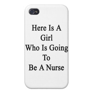 Here Is A Girl Who Is Going To Be A Nurse iPhone 4/4S Cover