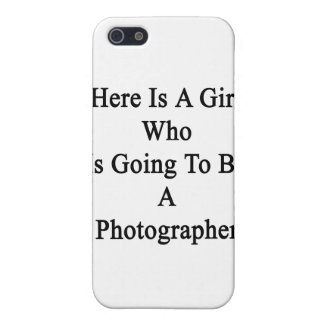 Here Is A Girl Who Is Going To Be A Photographer Covers For iPhone 5