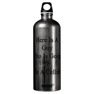 Here Is A Guy Who Is Going To Be A Cellist SIGG Traveller 1.0L Water Bottle