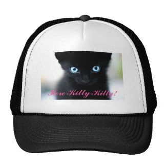 Here Kitty Kitty Trucker Hat