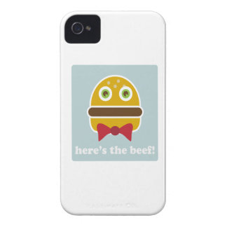 Here s The Beef iPhone 4 Case-Mate Cases