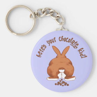 Here s your chocolate Keychain