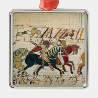 Here the French are fighting Silver-Colored Square Decoration